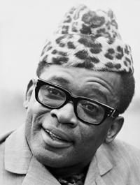 The all-powerful warrior who, because of his endurance and inflexible will to win, goes from conquest to conquest, leaving fire in his wake. Mobutu Sese Seko, African Dictators, Absolute Power, African Nations, African American History, Congo, Caricature, The Past, Handsome