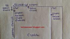 LO MIO ES COSER..... Y HACER PATRONES: Patrón Cuerpo Base Niña y Niño: Medidas Easy Sewing Patterns, Dress Patterns, Pattern Drafting, 1, Dresses, Child Fashion, Happy, Easy Dress Pattern, Crochet Edging Patterns