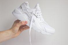 Nike Air Huarache White Pure Platinium
