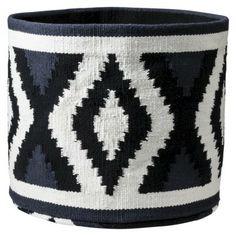 """Nate Berkus™ Woven Cotton Round Storage Bin - 12"""""""
