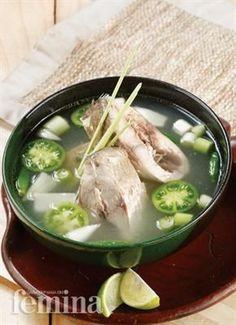 Sup Ikan Kuwe Femina