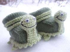 Turtle Slippers!