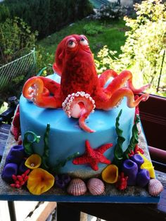 Octopus cake  by Alessandro Mariani