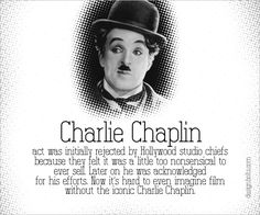 Charlie Chaplin Famous Failure1 Failure Stories Behind The Most Famous & Successful People Of the World