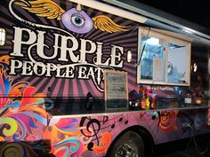 "Purple People Eatery Food Truck ""Fresh, Freaky, Street Food"" ~ Miami Food Review"