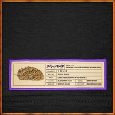 Blackberry Kush Original Bud Label