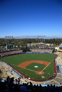 Dodger Stadium just a little bit north of downtown Los Angeles is a perfect place for watching baseball.  Sunny and warm for day games, clear and warm at night, rain almost never and one of the best broadcasters ever with Vin Scully, we cannot urge our Elite Adventure Tour guests enough to let us drop them off (with tickets) at the stadium after their private Los Angeles tour to see a game.
