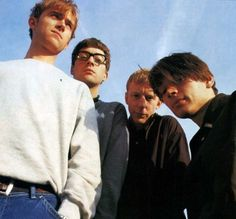 See Blur pictures, photo shoots, and listen online to the latest music. Blur Picture, Blur Photo, Damon Albarn, Blur Band, Funny Numbers, Going Blind, Britpop, Gorillaz, Latest Music