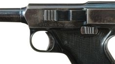 Union Firearms Company Reifgraber 1906 Patent pistol  Designed by Joseph Joachim Reifgraber and manufactured by Union Firearms in Toledo, Ohio - no serial number, only prototype known to exist. .38 S&W automatic, removable box magazine, short recoil semi-automatic.
