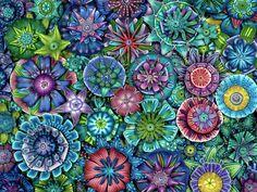 Modular Flowers 1 Carol L Simmons