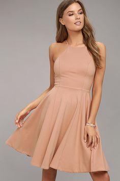 #AdoreWe #Lulus Womens❤️Designer Lulus Best of You Blush Pink Midi Dress - AdoreWe.com