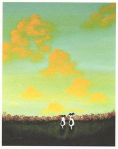 Smooth Fox Terrier Jack Russell Dog Flok Art Print Todd Young Spring Clouds | eBay