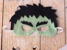 Resultado de imagem para máscara hulk de feltro