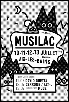 AD- love the pop art dots and cute illo Affiche du festival Musilac Aix-les-Bains Poster Design, Graphic Design Posters, Graphic Design Typography, Graphic Design Inspiration, Graphic Art, Web Design, Layout Design, Design Art, Print Design