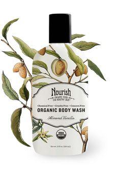 Nourish Organic Body wash