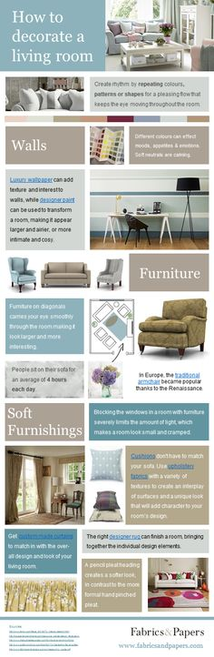 handy guide on how to decorate a living room