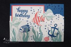 Stampin Up, Seaside Shore, I cased this idea from Brandy Cox