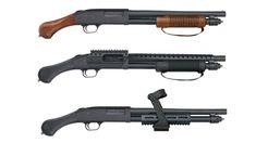 Mossberg Introduces 2019 Shockwave Models: Mossberg 590 Nightstick Non-NFA Pump-Action Firearm - Mossberg 590 Shock 'N' Saw Non-NFA Pump-Action Firearm - Mossberg 590 Shockwave SPX Non-NFA Pump-Action Firearm. Springfield Pistols, Mossberg Shockwave, Pump Action Shotgun, Life Of Crime, Firearms, Shotguns, Home Defense, Cool Guns, Airsoft