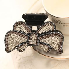 2016 Crystal Hair Clips Japanese & Korean Style High Quality Crystal Rhinestone Swarovski Elements for Thick Hair Cup Hair Jewelry AC290028 Online with $6.36/Piece on Annychan29's Store | DHgate.com