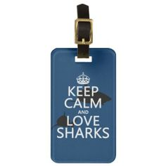 >>>Order          Keep Calm and Love Sharks (customizable colors) Bag Tag           Keep Calm and Love Sharks (customizable colors) Bag Tag We provide you all shopping site and all informations in our go to store link. You will see low prices onHow to          Keep Calm and Love Sharks (cus...Cleck Hot Deals >>> http://www.zazzle.com/keep_calm_and_love_sharks_customizable_colors_luggage_tag-256472657363402401?rf=238627982471231924&zbar=1&tc=terrest
