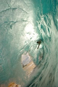 #water #ocean #surf #tunnel