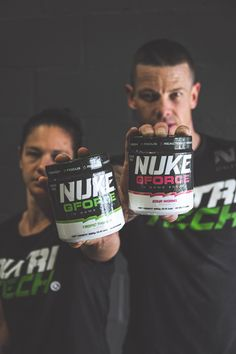 Level up your game! 🐲 NUKE GFORCE is a nootropic energy formula designed specifically to compliment the skills and strategies of eSports athletes and gaming enthusiasts, but is versatile to be used as your go to energy drink. Enhanced with Vitamin C, B-Vitamins, 125mg Caffeine, nootropic amino acids, and sweetened and coloured naturally. #NUTRITECH #trainlikeapro