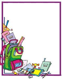 marcos y bordes escolares ile ilgili görsel sonucu