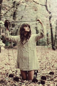 how i feel when i knit intarsia, lol. great sweater too!