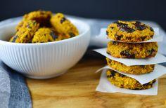 Pumpkin chocolate chip cookies – Healthy with Anja