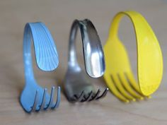 DIY fork bracelet! I'm making one as an accessory for Addie's Little Mermaid Dance Costume!