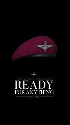 Army Couple Pictures, Parachute Regiment, British Army, Military Art, Soldiers, Weapons, Om, Berets, Weapons Guns