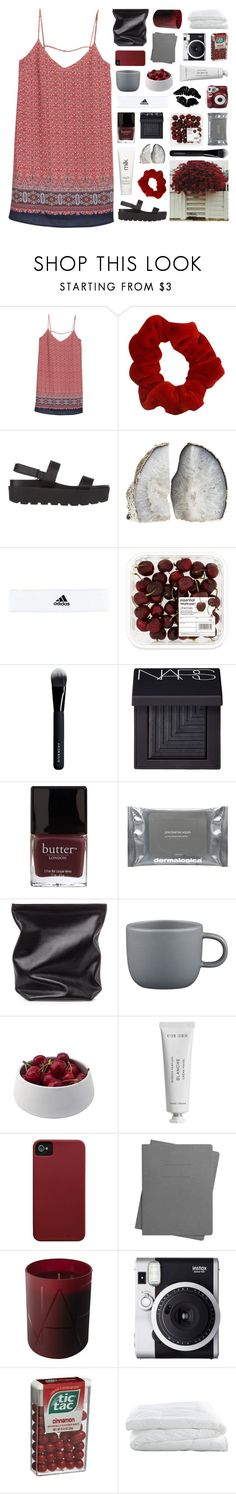 """""""monthly wrap up: may"""" by lucidmoon ❤ liked on Polyvore featuring MANGO, SPURR, H2O+, adidas, Givenchy, NARS Cosmetics, Butter London, Dermalogica, Polaroid and Jil Sander"""