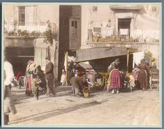 Italia, Costumi Napoli Santa Lucia    #Europe #Italia #Costumi_Types