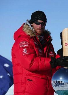 splendidroyalty:  Prince Harry, South Pole, December 13, 2013.