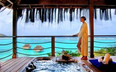 Spa Suites with Spectacular Views of the Caribbean