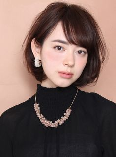 62 Ideas Haircut Inspiration Medium For Women Asian Short Hair, Asian Hair, Girl Short Hair, Short Hair Cuts, Japan Hairstyle, Medium Hair Styles, Long Hair Styles, Shot Hair Styles, Hair Arrange