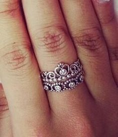 my princess ring pandora - Google Search