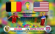 Belgium vs United States Live Streaming Info Fifa World Cup 2014: http://www.watchcriclive.net/?p=92