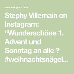"""Stephy Villemain on Instagram: """"Wunderschöne 1. Advent und Sonntag an alle 😊 #weihnachtsnägel #weihnachtsdeko #nagelstudiobasel #gelnails #gelnägel #nageldesign…"""" 1 Advent, Instagram, Nail Studio, Sunday, Nice Asses"""