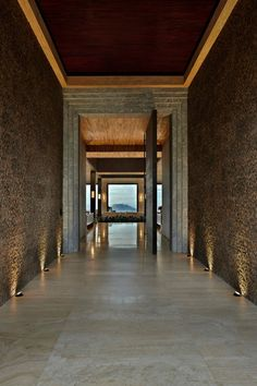 This stunning private residence, located in Morro do Chapéu, Bahia, Brazil, was designed by Eduarda Correa