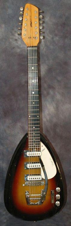 Vox Mark XII 12str 1966 Sunburst