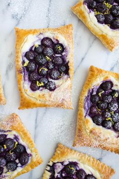 Blueberry Lemon Danish in 20 Minutes
