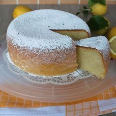 TORTA AL LIMONE soffice e alta cake wedding cake kindergeburtstag ohne backen rezepte schneller cake cake Unique Recipes, Sweet Recipes, Fun Desserts, Dessert Recipes, Torte Cake, Breakfast Cake, Sweet Cakes, Dairy Free Recipes, Cake Cookies