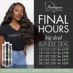 "Final Hours- Big Deal Bundle Deal: http://qoo.ly/dxvmf     Experience the SEA Collection Big Deal Bundle Deals in the following offerings*:    12"" 12"" 12""  for $179  16"" 16"" 16"" for  $199  20"" 20"" 20"" for $249  24"" 24"" 24"" for  $279  30"" 30"" 30"" for $359    This exclusive offer is available online and in our boutiques starting today at 10am EST and ending on 2/25/17, so shop now!    *The Big Deal Bundle Deals can not be combined with other textures. They are sold in groupings of three of the…"