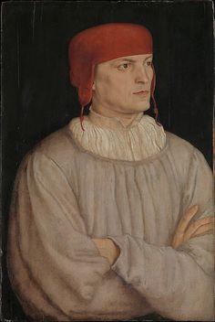 Chancellor Leonhard von Eck (1480–1550) Barthel Beham (German, Nuremberg ca. 1502–1540 Italy)   1527.  Oil on wood, 22 1/8 x 14 7/8 in. (56.2 x 37.8 cm)