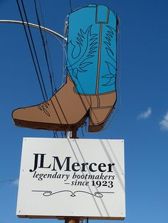 J.L. Mercer Boot Shop - San Angelo, Texas