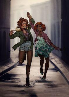 Hazel and Piper (OMG!)