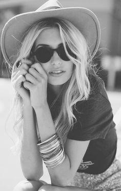 Já falei! Tô apaixonada por chapéu!
