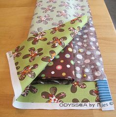 "Magical pillowcase tutorial. This is the neatest way to make pillowcases. Pinner says ""I have made many and love it!"":"