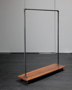 Store Clothing In Style With This Innovative, Beautifully Crafted Clothing  Rack. The Industrial